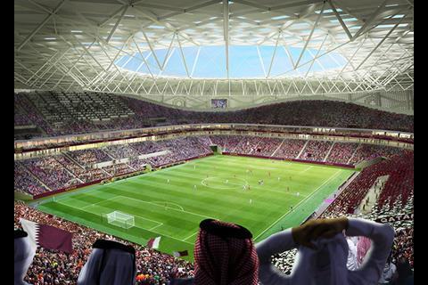 Latest Qatar World Cup Stadium Unveiled News Building